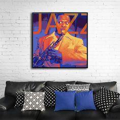 IT'S MY LIFE MIXGALLERY portrait,face,music,jazz,wallart,canvas,canvas print,home decor, wall,framed prints,framed canvas,artwork,art