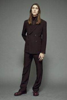 What Will Johnny Depp Wear to Walk Down the Aisle? | Marc Jacobs Brown Straight-Legged Suit