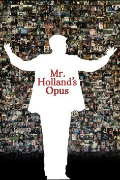 Mr. Holland's Opus (1995) | http://www.getgrandmovies.top/movies/15573-mr.-holland's-opus | In 1965, passionate musician Glenn Holland takes a day job as a high school music teacher, convinced it's just a small obstacle on the road to his true calling: writing a historic opus. As the decades roll by with the composition unwritten but generations of students inspired through his teaching, Holland must redefine his life's purpose.