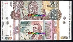 Romania banknotes - Romania paper money catalog and Romanian currency history Romania, Catalog, Money, Personalized Items, Paper, Silver