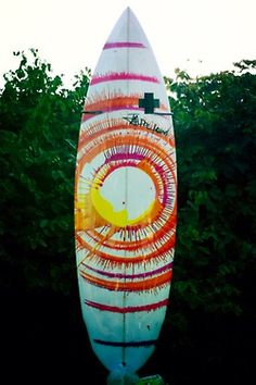 SPIN ART surf board!!!