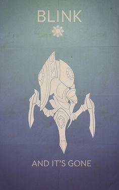 Starcraft Stalker poster