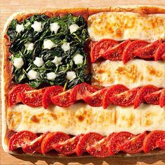 July 4th Recipes: July 4th Desserts, Food for Barbecue : People.com Or use pepperonis instead of tomatoes