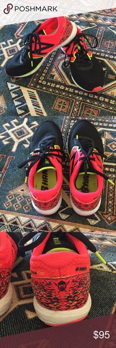 New Balance Hanzo S Running Shoes Product # WHANZSP1  Very light wear, only worn twice. Super lightweight, a great racing shoe! New Balance Shoes Athletic Shoes