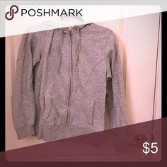 Champion hooded sweatshirt size S Champion cotton grey hooded zip up sweatshirt. Size S. Champion Tops Sweatshirts & Hoodies