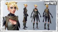 ArtStation - Fortnite - Female Ninja, Vitaliy Naymushin