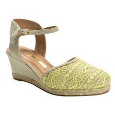 a48f86588 O seu estilo é você, escolha a sua tendência. Encontre Anabela Rendada Via  Marte Begeverde - Sapatos no Mercado Livre Brasil. Descubra a melhor forma  de ...