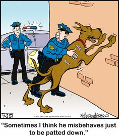 Guilty as charged! | Read Marmaduke #comics @ www.gocomics.com/marmaduke/2015/07/25?utm_source=pinterest&utm_medium=socialmarketing&utm_campaign=social | #GoComics #webcomic #dogs