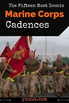 Take a trip back in time and rediscover some of the best Marine Corps Cadences for running or just to piss of an unlucky Soldier Marine Corps Cadence, Us Marine Corps, Marine Love, Once A Marine, Navy Marine, Military Humor, Military Life, Military Art, Military Guys