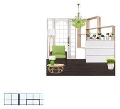 """Без названия #9"" by ah-katerina on Polyvore featuring interior, interiors, interior design, дом, home decor, interior decorating, Palecek, WeWood, WALL и Improvements"