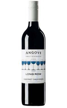 Angove Long Row Cabernet Sauvignon 2016 South Australia -12 Bottles South Australia, Wine Australia, Vegetable Lasagne, Different Wines, Wine Down, In Vino Veritas, Purple Hues, Cabernet Sauvignon, The Row