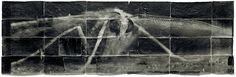 Mike and Dough Starn, 1996-2007 Attracted to Light 19   Toned silver print on Thai mulberry paper  Foto van Marnix