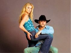Great photo - Faith Hill and Tim McGraw