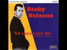 Ricky Valance-Tell Laura I Love Her-Number One 29 Sep 3 Weeks Only No 1 Welshman who covered a US hit. He became a One-hit Wonder. Uk Number 1, Number One Hits, Dreamboats And Petticoats, Elvis Presley Albums, One Hit Wonder, 45 Records, Easy Listening, Pop Singers, Music Publishing
