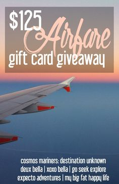 Let's Go! Enter to win the $125 Delta Airfare Giveaway | CosmosMariners.com