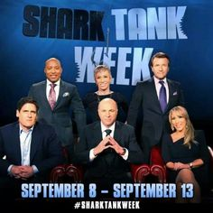 Shark Tank-- obsessed with this show. makes me really regret not finishing my business degree... :/