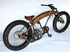 Sweet Rat Rod Bike!