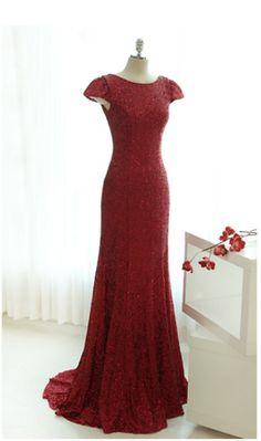 red sequin, mint, sequin dress, dress long red