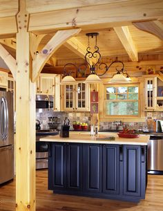 Like the wood arches going into the kitchen