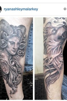 Tattoo by Ryan Ashley malarkey