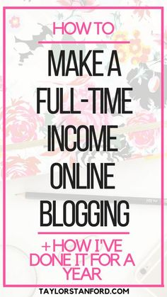How to make money blogging. How I make money online.