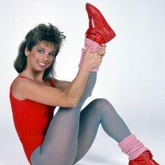 Denise Austin #oldiesbutgoodies #sweatingtotheoldies #blastfromthepast