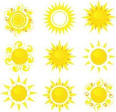 Fun sun designs!    Sun Tattoo Design 1