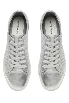 Witchery OCRF Silver Sneakers  witcherywishlist Silver Gifts 89d8ce6e5dc