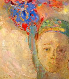 Odilon Redon ~ The Palm, c.1899