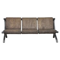 Archer Sofa -- pine & iron