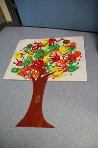 peinture à la main- travail collectif