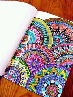 Colours photo&art inspiration doodle art, art y drawings Mandala Art, Mandalas Painting, Mandalas Drawing, Doodling Art, Mandala Tattoo, Image Clipart, Art Clipart, Animal Drawings, Art Drawings