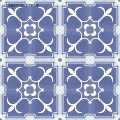 Flor de Liz - Cement Tile Shop