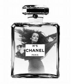 1971 Chanel perfume ad with Jean Shrimpton