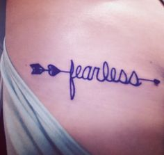fearless tattoos on pinterest tattoos and body art faith tattoos and tattoo quotes. Black Bedroom Furniture Sets. Home Design Ideas