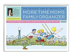 2015 Organized Mom Family Weekly Planner wall calendar with ...