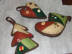 Enfeites de Natal!! by Patricia Moretti, via Flickr