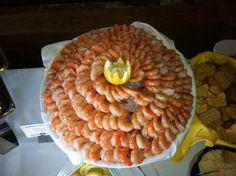 Time for shrimp!