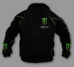 New MONSTER ENERGY F1 Formula 1 Jacket by bestqualitybestprice, $49.00