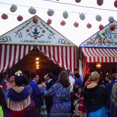 Feria de abril 2013, Sevilla. Flamencas, encendio, casetas...