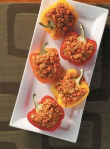 Quinoa-Stuffed Peppers | The Whole Grains Council