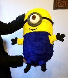 Bricolage de fête: Tuto piñata Minion - Les idées vagues de Snapulk...