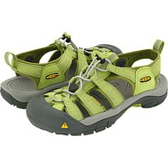 KEEN sandals--ANY KEEN shoe...you just cannot beat them.