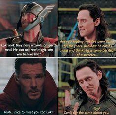Loki and Doctor Strange