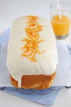 Orange cake / Bolo de laranja