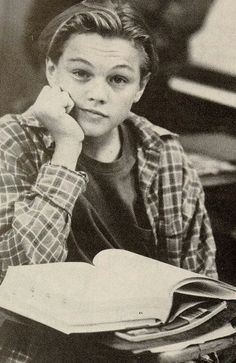 Young Leonardo DiCaprio in the show growing pains
