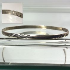 Sterling Silver Taxco Bangle