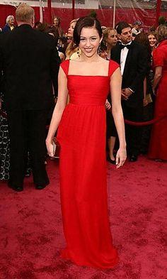 2017 Cheap Celebrity Dresses Red Chiffon Straight Prom Dresses Spaghetti Straps Pleat Zipper Back Custom Made Red Carpet Dresses