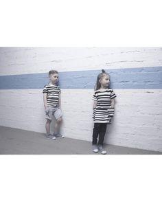 Stripe - T-Shirt - by AARREKID Fox, Normcore, Classic, Cotton, T Shirt, Design, Derby, Supreme T Shirt, Tee Shirt
