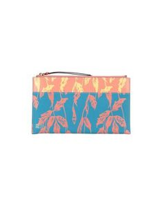 Leather Printed leather Logo Floral design Zip Fully lined Contains non-textile parts of animal origin Leather Pouch, Soft Leather, Textiles, Peter Pilotto, World Of Fashion, Luxury Branding, Women Accessories, Floral Design, Prints